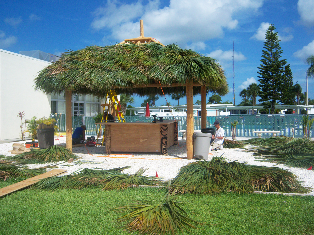 tiki huts in florida the newest retro fad to hit people s