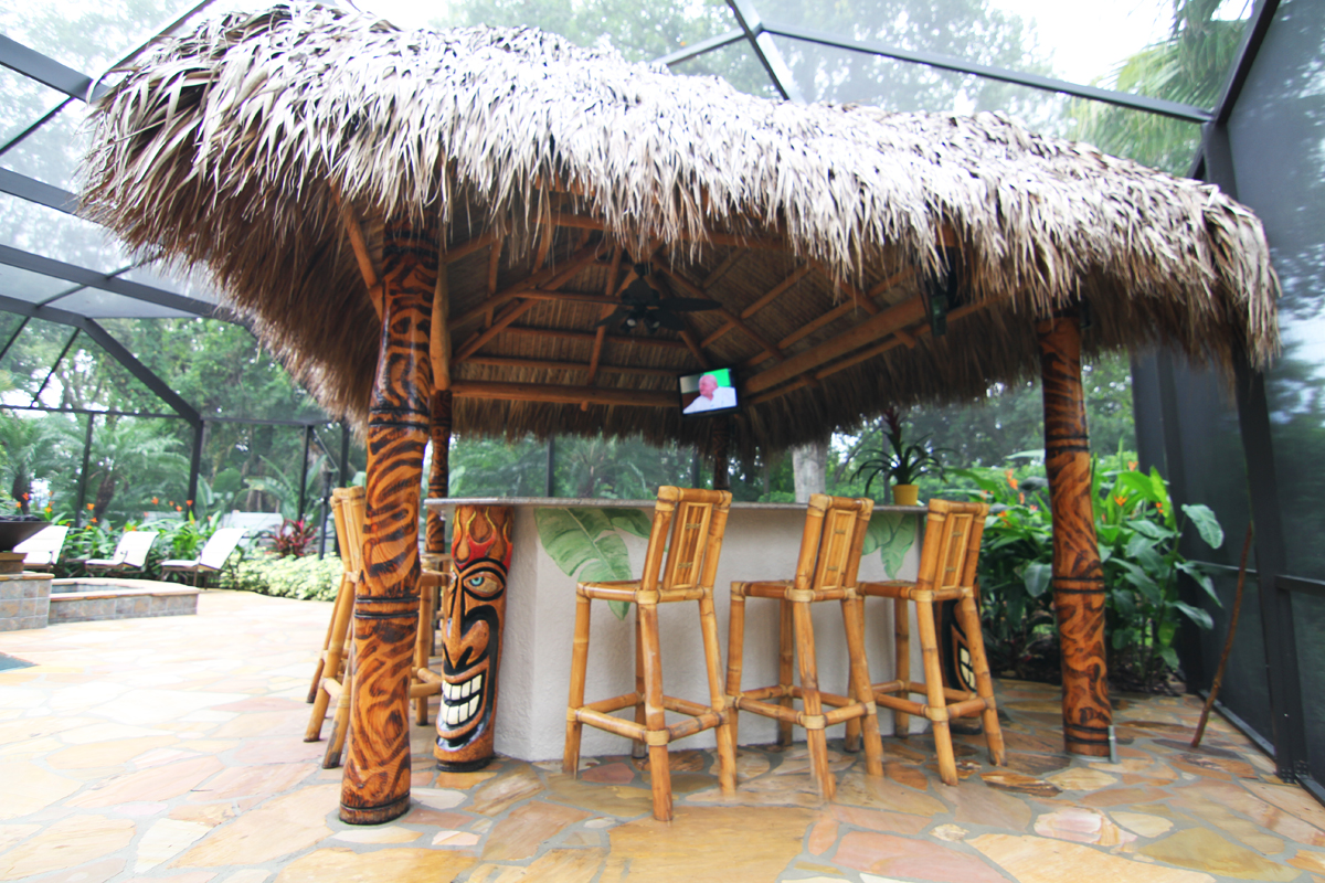 Tiki Hut Roofing - All You Need To Know | WelCome to Big ... on Backyard Tiki Hut Designs id=42037